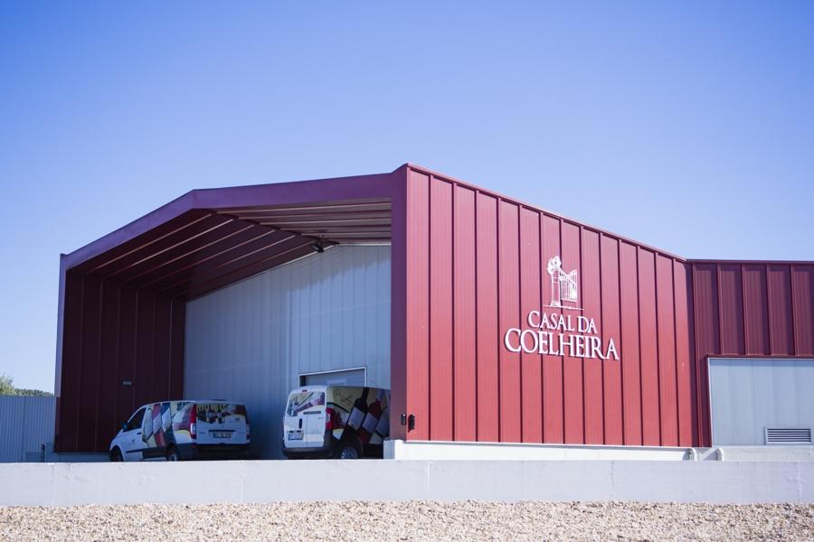 Construção de Adega e Loja - Casal da Coelheira